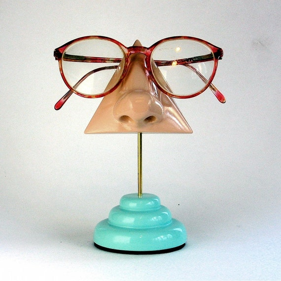 Eyeglass Holder, Men's Women's Nose Eyewear Stand
