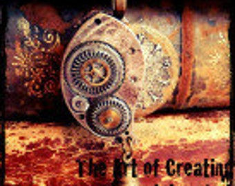 Steampunk DVD - The art of Creating Steampunk Jewelry - DVD Set