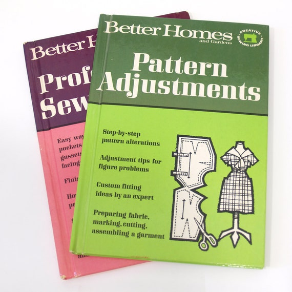 2 vintage sewing books by Better Homes and Gardens
