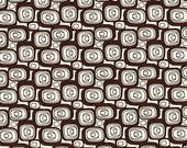 CLEARANCE Hip Squares organic fabric Geo Grand collection by Daisy Janie - 1/2 Yard