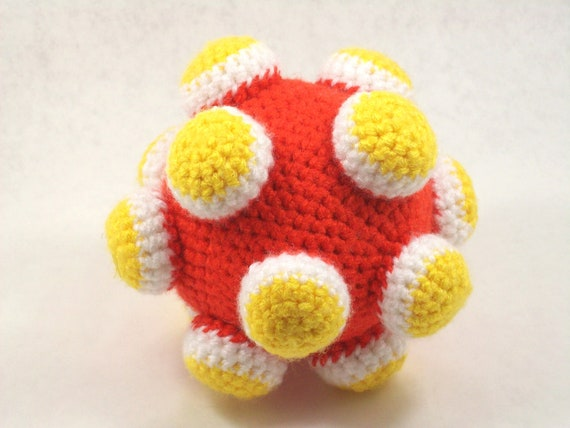 Amigurumi Pattern Katamari Inspired Ball by quietnova on Etsy