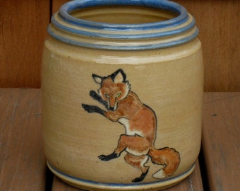 Dancing Fox Jar