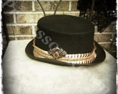 Grim Lantern - Steampunk Menswear Top Hat