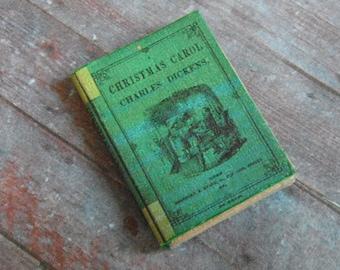 Miniature Book --- Christmas Carol
