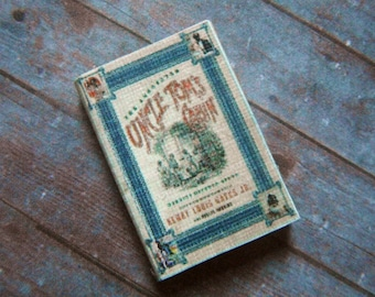 Miniature Book --- Uncle Tom's Cabin
