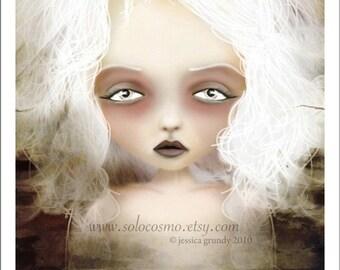 "5x7 Premium Art Print ""Mania"" Small Size Giclee Print - Lowbrow Art Lesser Known Greek Goddess"