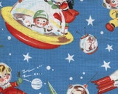 Michael Miller Retro Rocket Rascals - Fabric 1 yard off of bolt