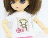 B115 - T-shirt and pants for hujoo baby / ai doll