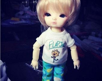 B098 - T-shirt and pants for hujoo baby / ai doll