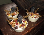 Olde Crow JUMBO Melting tart- made with organic soy wax, spices, berries, corn and black crow