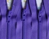 Ykk Zippers- Grape Purple 9 Inch Color 281- 10 Pieces