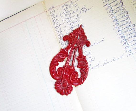 Vintage Metal Receipt Hook