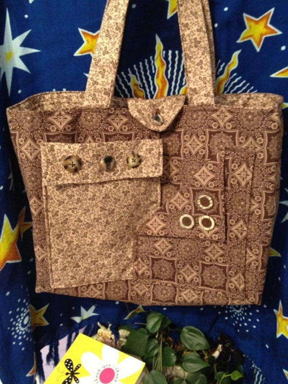 Shades of Brown Tote