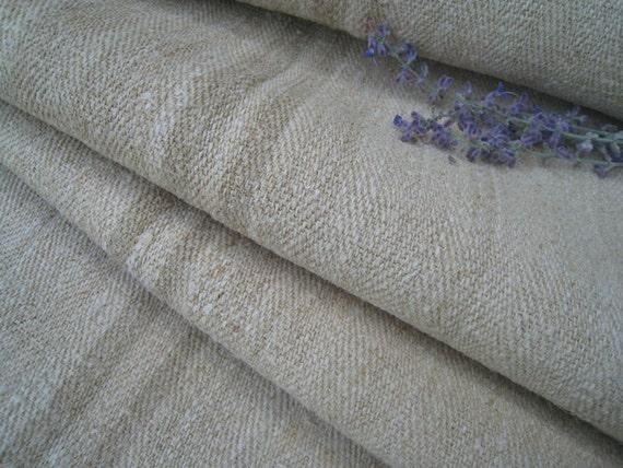 antique handloomed STAIRRUNNER FADEd BROWN rug bathmat 6.55y