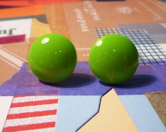 SALE - Sweet Earrings - Green