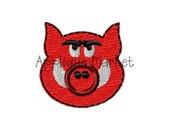 Machine Embroidery Design Hog Mini INSTANT DOWNLOAD