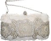 Hazel Crystal Clutch