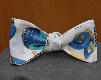 Fancy Dreidel  Bow Tie