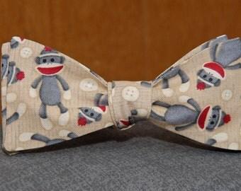 Sock Monkey  Bow Tie