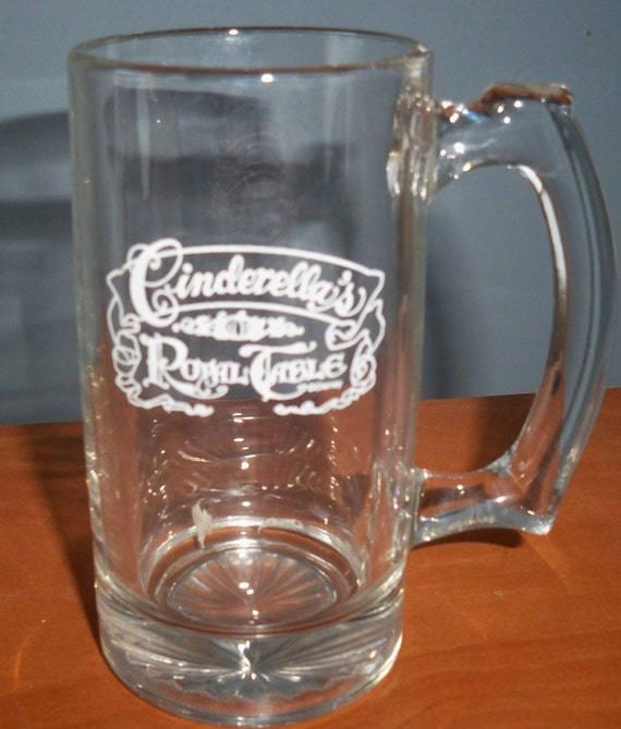 Disney CINDERELLA'S ROYAL Table Glass Mug