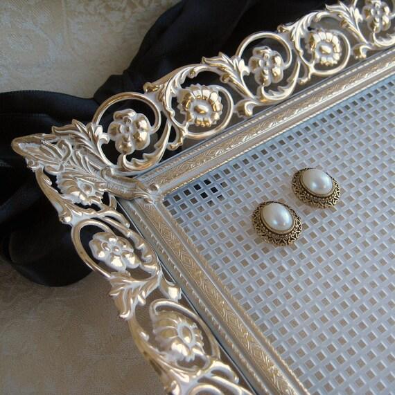 Earring Holder Jewelry Organizer Display Romantic Repurposed