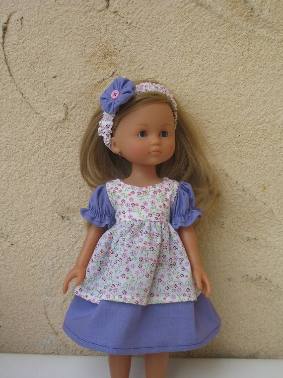 Corolle Les Cheries Doll Dress with Headband