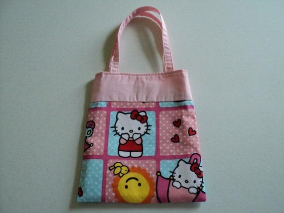 Fabric Gift Tote/Bag -  Hello Kitty