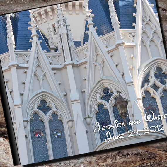 Disney Wedding Album Personalized Photo Album by AlbumOptions