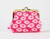 Deep dad - Petit Pan Osami rose - metal frame purse