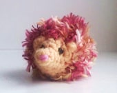 Bad Hair Day Hedgehog -- super furry spiky crazy hairy funny silly cute forest woodland animals critters creatures