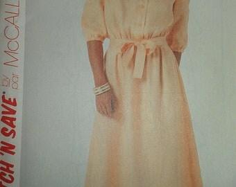 Prairie Style Bodice Dress McCalls 2903 10 12 14 Historical Costuming