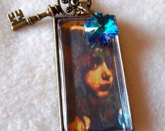 Healing Ragamuffin pendant necklace, Avatar 4, No.51