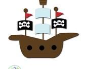 Children's Pirate Bedroom Signs