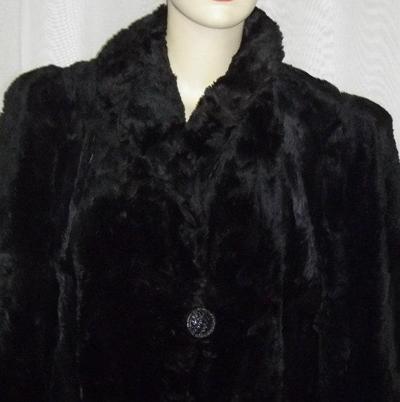Vintage Hudson Seal Fur Jacket Coat Car Length by ShonnasVintage