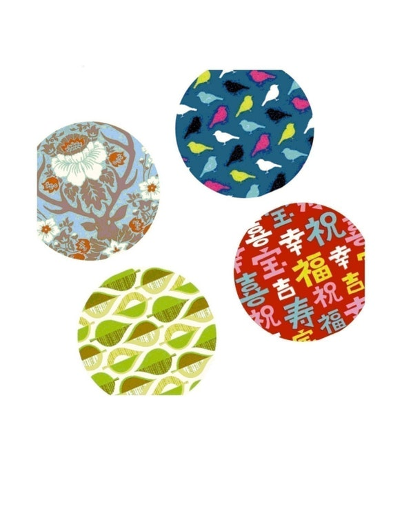 Magnificent Pattern One 1x1 Inch Rounds Images