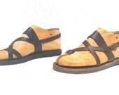 Handmade Roman Grecian leather sandals for men