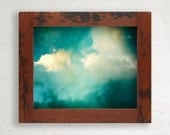 Rustic Wood Frame // 8 x 10 // Reclaimed Tropical Hardwood // One of a Kind