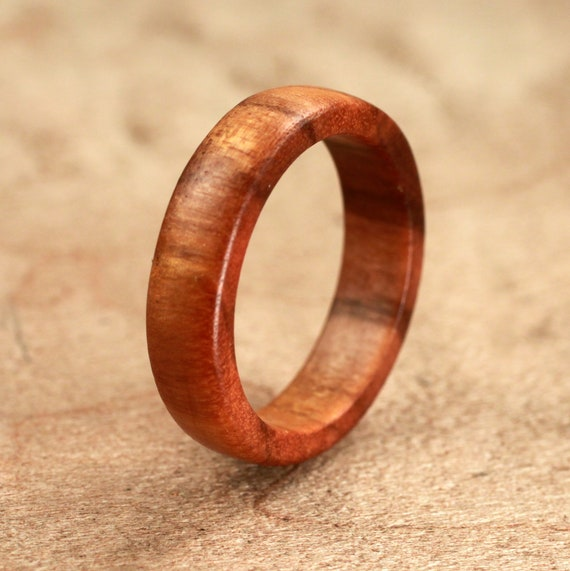 Osage Orange Wood Ring No. 38 Size 8.75 (09-03-2012)