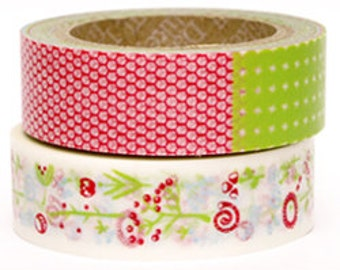 Decollections Masking Tape - Nature & Patchwork - Set 2 - Fantasy