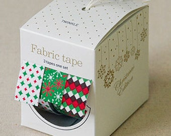 Nuage Fabric Masking Tape - Twinkle - Christmas Set 3