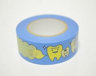 Washi Masking Tape - Dental - Limited Edition - Tokyu Hands