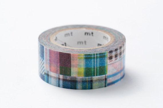 mt ex Washi Masking Tape - Patchwork
