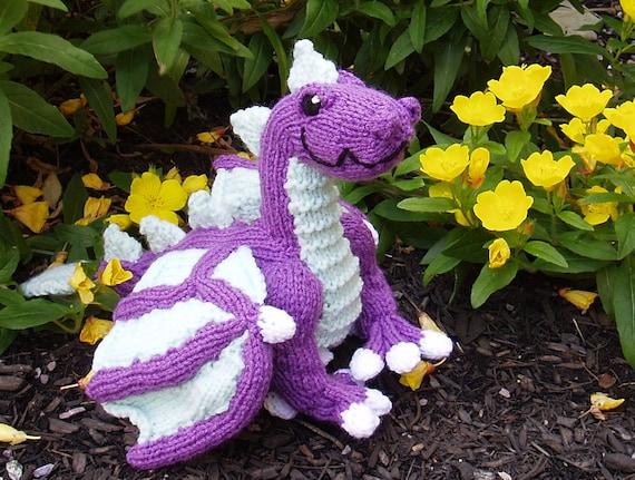 Knit Dragon Pattern Free : PATTERN Knit Dragon