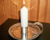 Wagontown Candle Holder Including Candle