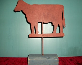 Cow  Weathervane - Decorative Reproduction