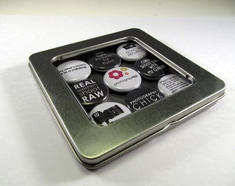 Photography Magnets / Refrigerator Magnets / Locker Magnets / Ready for Gift Giving