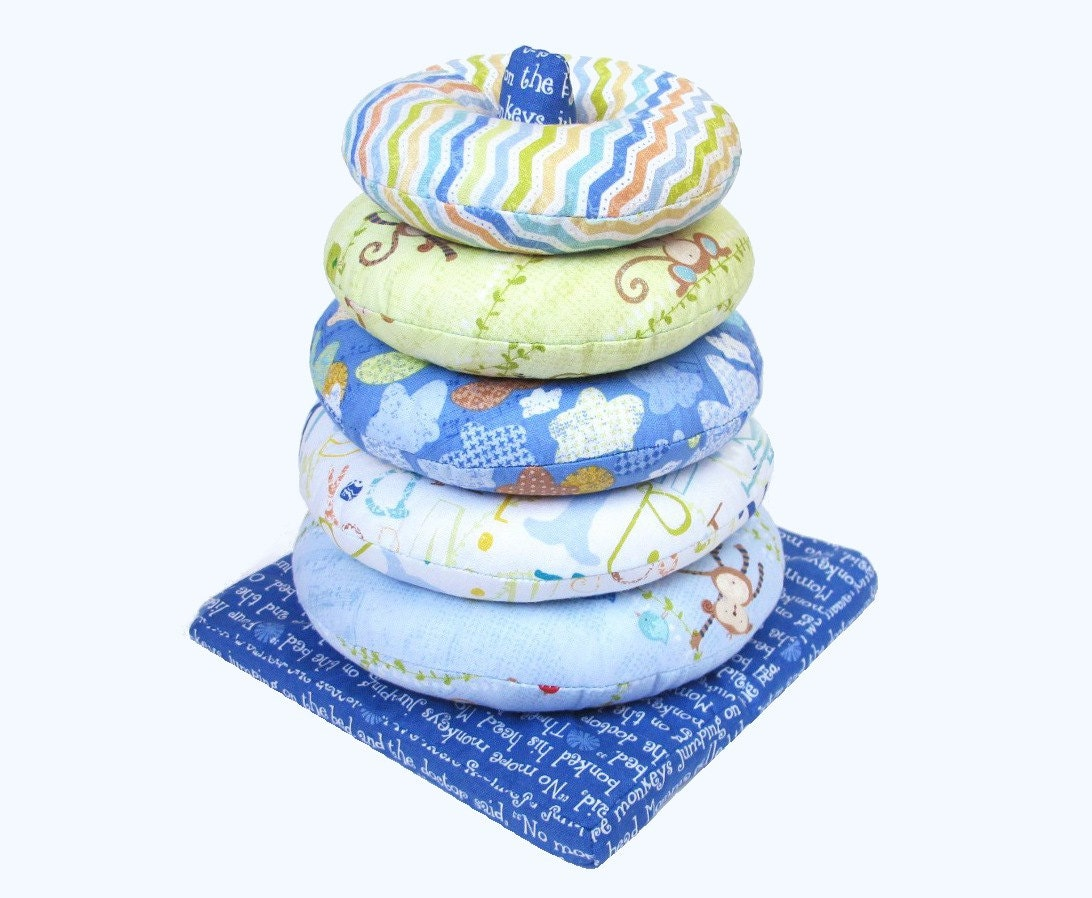 Ring Stacker Soft Toy A Pdf Sewing Pattern Free Shipping