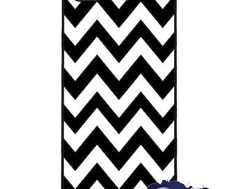 Black and White Chevron - iPhone Cover, Case