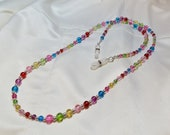 Rainbow Eyeglass Chain