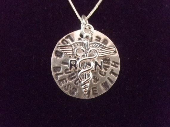 registered prayer necklace rn necklace by